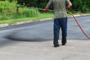 Parking Lot Sealcoating in CT